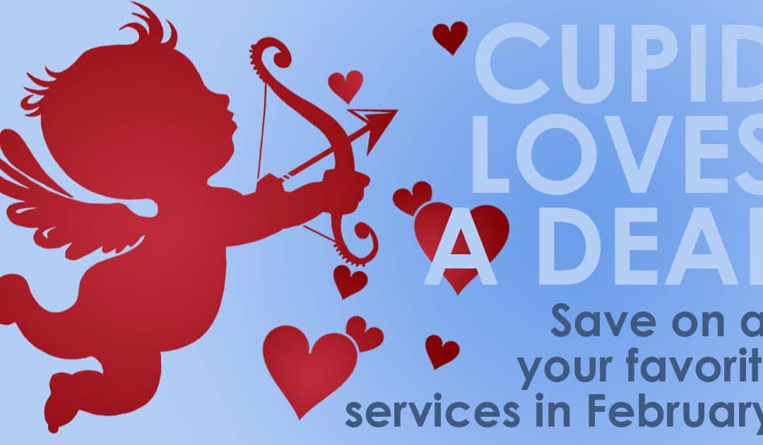 Cupid Loves A Deal:  Valentine's Day Savings at On-Point Health & Wellness