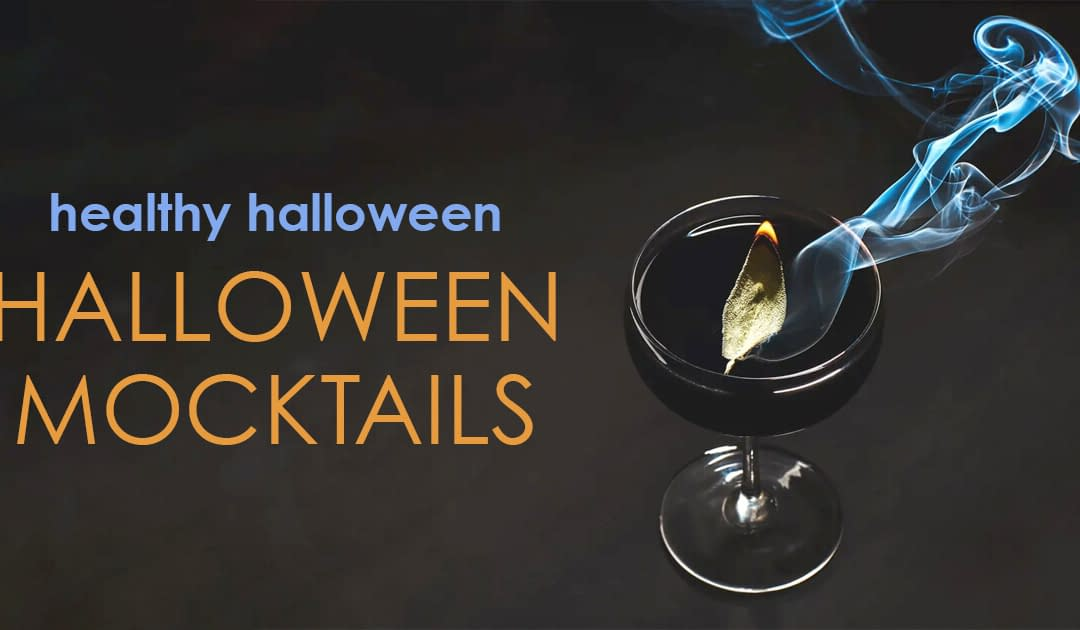 Healthy Halloween Mocktail Recipes